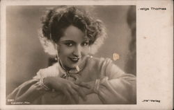 Helga Thomas Postcard