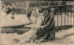 May McAvoy Postcard