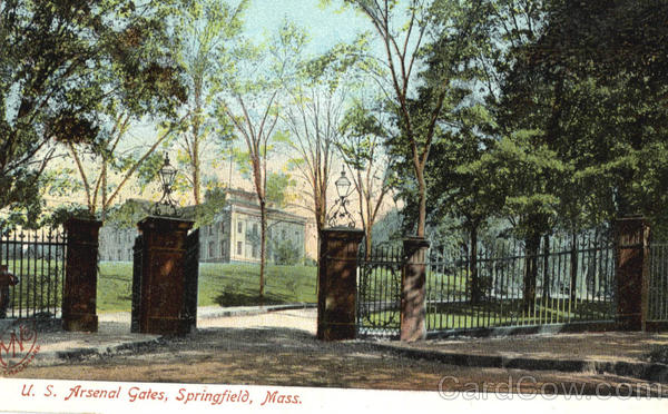 U.S. Arsenal Gates Springfield Massachusetts