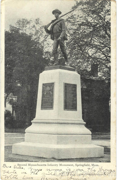 Second Massachusetts Infantry Monument Springfield