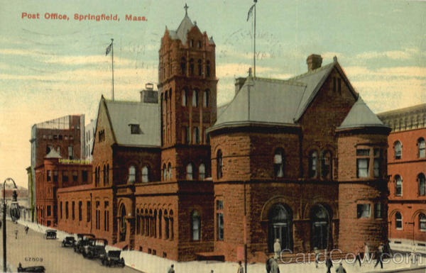 Post Office Springfield Massachusetts