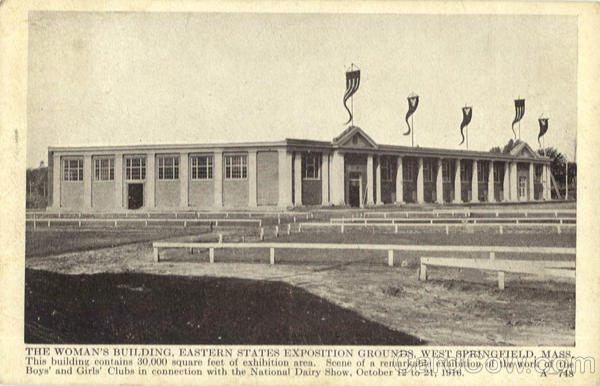 The Woman's Building, Eastern States Exposition Grounds West Springfield Massachusetts