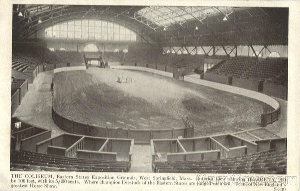 The Coliseum, Eastern States Exposition Grounds West Springfield Massachusetts