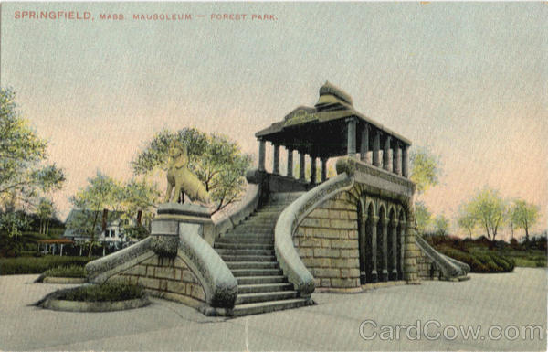 Mausoleum, Forest Park Springfield Massachusetts
