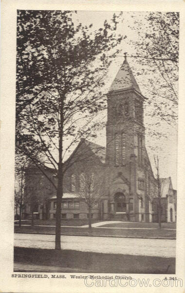 Wesley Methodist Church Springfield Massachusetts