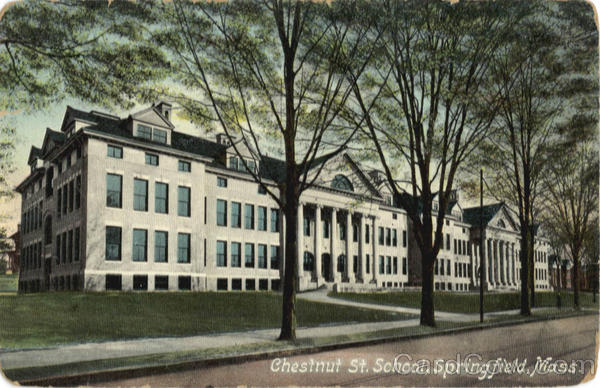 Chestnut St. School Springfield Massachusetts