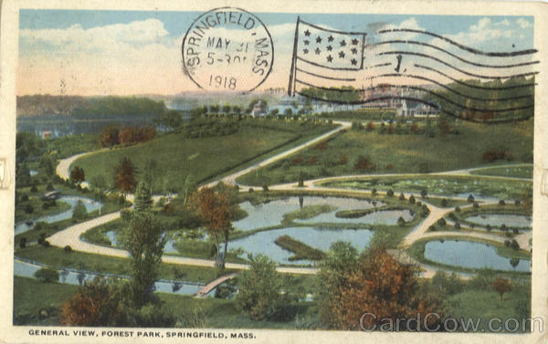 General View, Forest Park Springfield Massachusetts