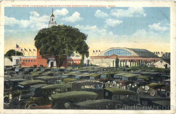 Autos From 14 States At Eastern States Exposition Springfield Massachusetts