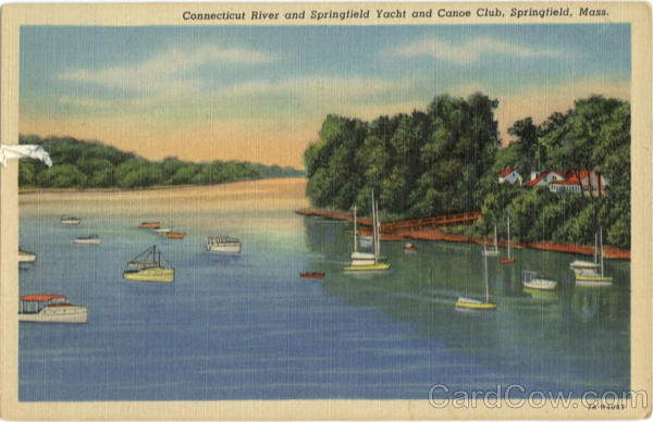 Connecticut River and Springfield Yacht and Canoe Club Massachusetts