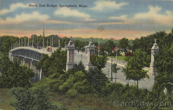 North End Bridge Springfield Massachusetts