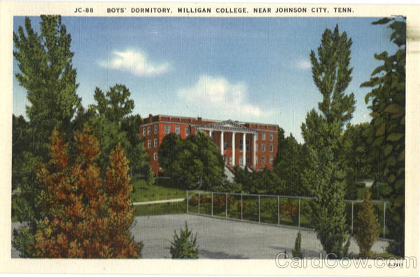 Boys' Dormitory, Milligan College Johnson City Tennessee