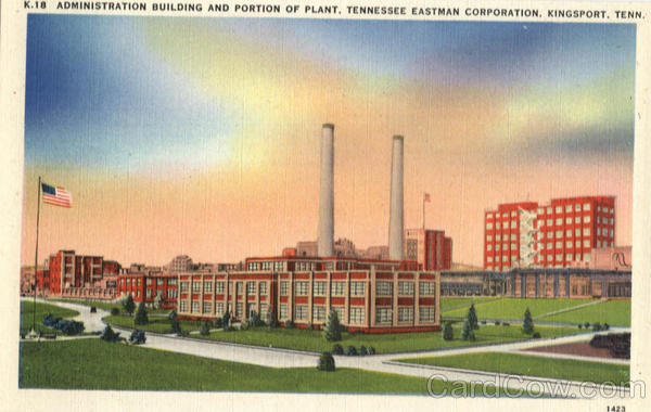 Administration Building And Portion Of Plant, Tennessee Estaman Corporation Kingsport