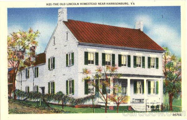 The Old Lincoln Homestead Harrisonburg Virginia