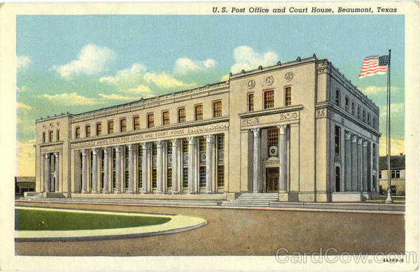 U.S. Post Office and Court House Beaumont Texas
