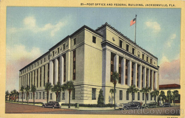 Post Office and Federal Buidling Jacksonville Florida