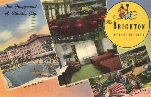 Atlantic City Hotels >> The Brighton Hotel Atlantic City, NJ