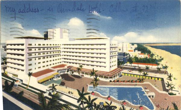 Sans Souci Hotel Miami Beach Florida