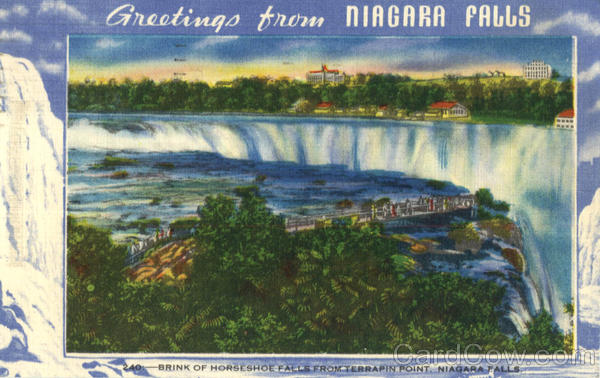 Greetings from Niagara Falls New York