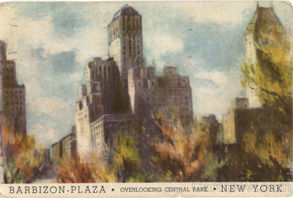 Barbizon Plaza Hotel In New York City