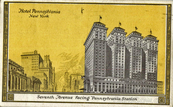 Hotel Pennsylvania facing Penn Station New York City