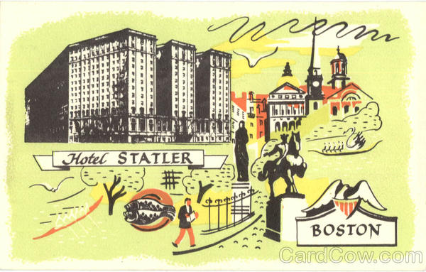 Hotel Statler Boston Massachusetts