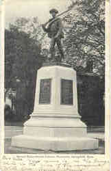 Second Massachusetts Infantry Monument