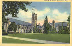 Trinity M.E. Church Postcard