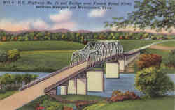 Bridge over French Broad River