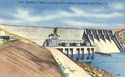 Architect's Sketch of Boone Dam
