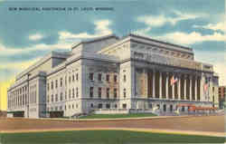 New Municipal Auditorium in St. Louis