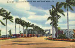 Entrance to Gulfstream Park Race Track