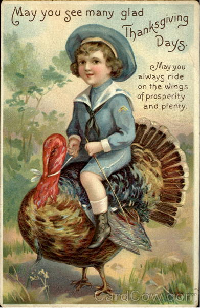 May You See Many Glad Thanksgiving Days Children