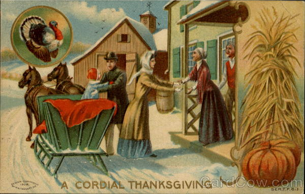 A Cordial Thanksgiving