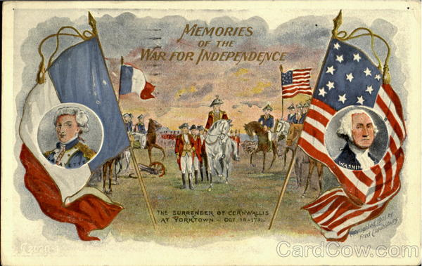 Memories Of The War For Independence Fred C. Lounsbury