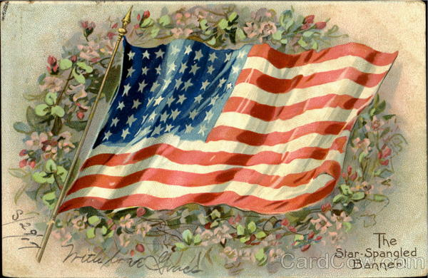 The Star Spangled Banner! Patriotic