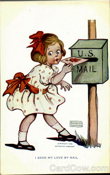 I Send My Love Be Mail Katherine Gassaway Comic