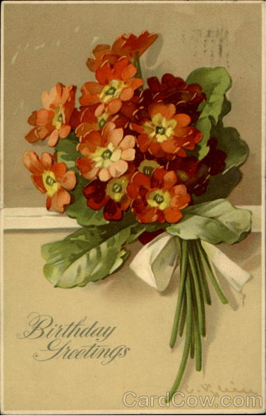 Birthday Greetings C. Klein