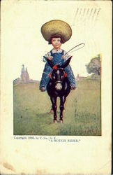 A Rough Rider Postcard