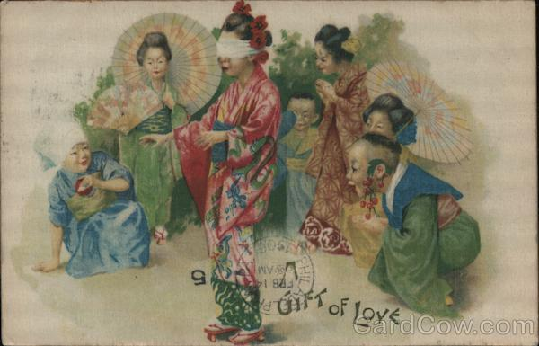 A Gift of Love - Asian Womenp