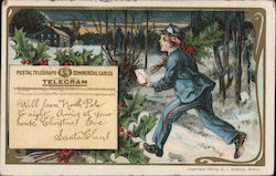 Postal Telegraph Commercial Cables Telegram Will leave North Pole to