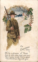 On Christmas Day - Soldier With Rifle
