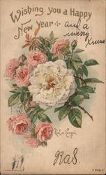 Bouquet of Roses: Wishing You a Happy New Year