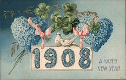 A Happy New Year - 1908