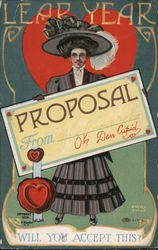 Leap Year - Woman Holding Proposal