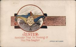 Jester face - Jester Reminder That I'm Thinking of You This Easter