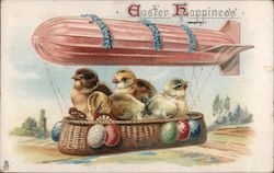 Easter Happiness - Zeppelin with a Basket of Chicks