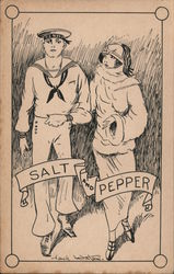 Salt and Pepper - Sailor with Woman