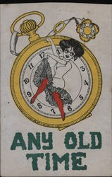 Pocket Watch: Any Old Time Postcard