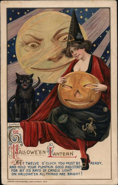 Rare The Halloween Lantern Samuel L. Schmucker