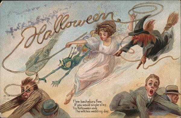 Halloween Witches, Goblins H-12 E. Nash